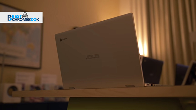 Case and design of Asus chromebook
